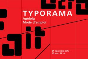 exposition apeloig typorama
